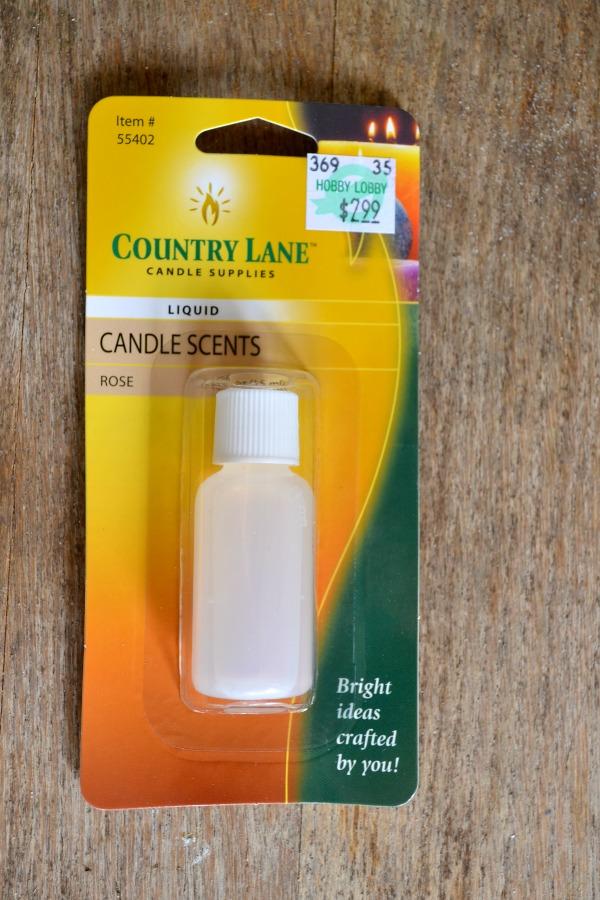 liquid candle scent