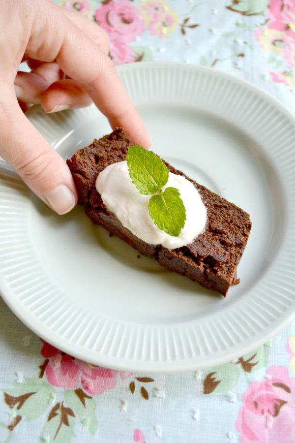 chocolate sweet potato cake