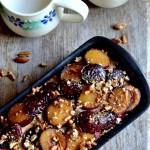 sugar, spice, and everything nice plum cake