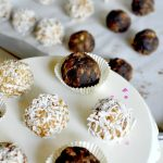 key lime pie & chocolate peanut butter balls