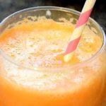 candy corn fruit juice