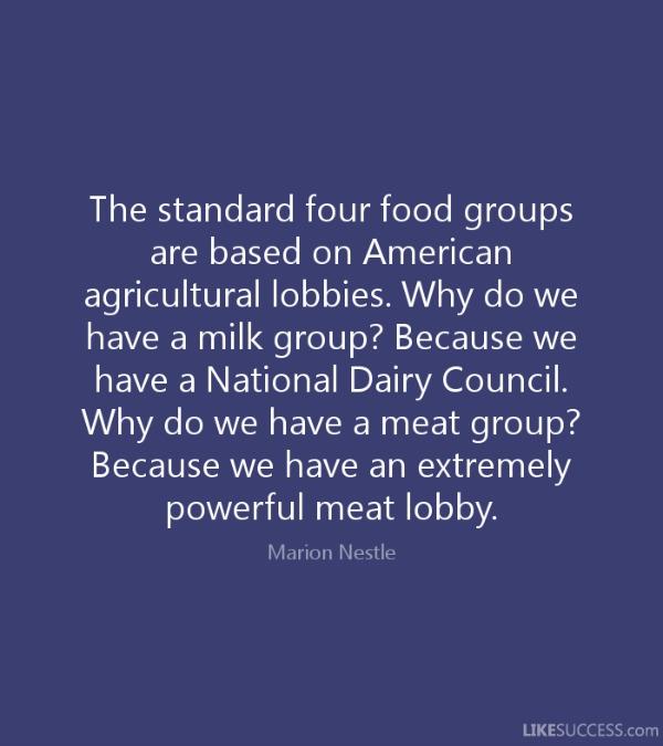 agricultural lobbying