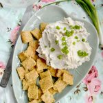 Vegan Cream Cheese with Dill Crackers